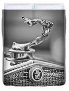 1931 Cadillac 355 Hood Ornament Duvet Cover