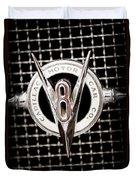 1931 Cadillac Emblem Duvet Cover