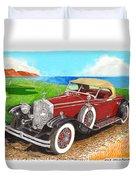 Rolls Royce Henley Roadster Duvet Cover