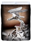 1932 Alvis Hood Ornament - Emblem Duvet Cover