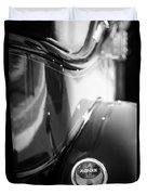 1932 Auburn Twelve Custom Phaeton Taillight Emblem Duvet Cover