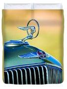 1933 Pontiac Hood Ornament - Emblem Duvet Cover