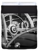 1936 Mercedes-benz 540 Special Roadster Steering Wheel Duvet Cover