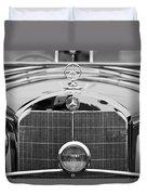 1936 Mercedes-benz 540k Mayfair Special Roadster Duvet Cover