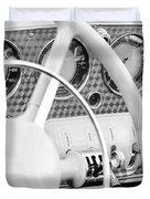 1937 Cord 812 Phaeton Dashboard Instruments Duvet Cover