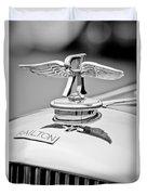 1937 Railton Rippon Brothers Special Limousine Hood Ornament Duvet Cover
