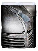 1938 Chevrolet Hood Ornament - Emblem Duvet Cover