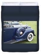 1938 Packard Duvet Cover