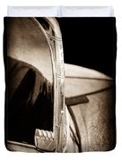 1940 Ford Hood Ornament Duvet Cover