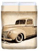 1940 Ford Pickup Duvet Cover