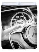 1941 Lincoln Continental Coupe Steering Wheel Emblem -0858c Duvet Cover