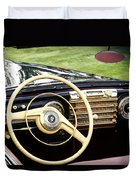 1942 Lincoln Duvet Cover