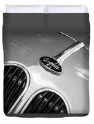 1948 Anglia Grille Emblem -510c Duvet Cover