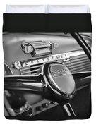 1950 Chevrolet 3100 Pickup Truck Steering Wheel Duvet Cover