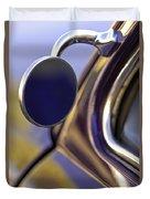 1950 Mercury Custom Lead Sled Side Mirror Duvet Cover