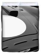1952 Aston Martin Db3 Sports Hood Emblem Duvet Cover