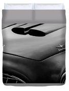 1952 Ferrari 212 225 Barchetta Hood Emblems Duvet Cover