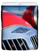 1952 Frazer-nash Le Mans Replica Mkii Competition Model Grille Emblem Duvet Cover
