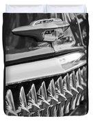 1953 Chevrolet Grille Emblem Duvet Cover
