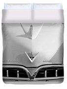 1953 Studebaker Emblem Duvet Cover