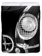 1954 Chevrolet Corvette Head Light Duvet Cover