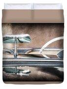 1954 Chevrolet Corvette Rearview Mirror Duvet Cover