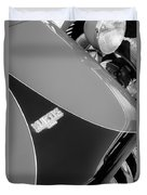 1954 Kurtis-kraft 500s Continuation Hood Emblem Duvet Cover