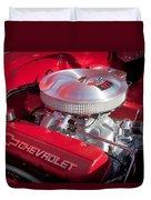 1955 Chevrolet 210 Engine Duvet Cover