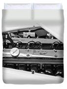 1955 Jaguar Engine Duvet Cover