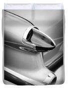 1956 Oldsmobile 98 Taillight Duvet Cover