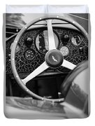 1957 Aston Martin Dbr2 Steering Wheel Duvet Cover