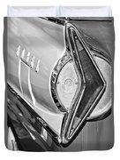 1958 Edsel Wagon Tail Light Duvet Cover