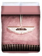 1959 Aston Martin Db Mk IIib Drophead Coupe Emblem Duvet Cover