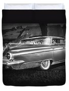 1959 Buick Electra 225 Bw Duvet Cover