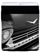 1959 Chevrolet Apache Front End Duvet Cover
