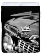 1959 Chevrolet Grille Emblem Duvet Cover