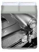 1960 Aston Martin Db4 Series II Grille Duvet Cover