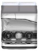 1960 Chevrolet Impala Tail Lights Duvet Cover