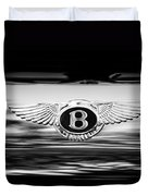 1961 Bentley S2 Continental - Flying Spur - Emblem Duvet Cover