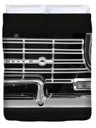 1962 Chevrolet Nova Grille Emblem Duvet Cover
