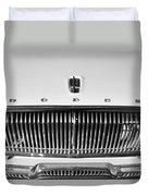 1962 Dodge Dart Grille Emblem Duvet Cover