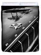 1962 Dodge Polara 500 Grille - Hood Emblem Duvet Cover