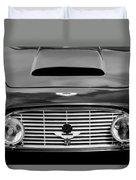 1963 Aston Martin Db4 Series V Vantage Gt Grille Duvet Cover