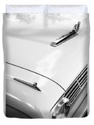1963 Ford Falcon Futura Convertible Hood Duvet Cover by Jill Reger