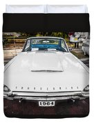 1964 Ford Thunderbird Painted Duvet Cover