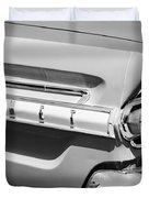 1964 Mercury Comet Taillight Emblem Duvet Cover