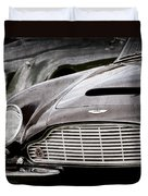 1965 Aston Martin Db6 Short Chassis Volante Grille Duvet Cover
