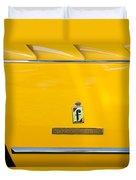 1965 Ferrari 275gts Emblem Duvet Cover