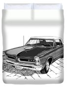1965 Pontiac G T O Convertible Duvet Cover