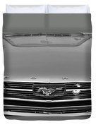 1966 Ford Mustang Front End Duvet Cover